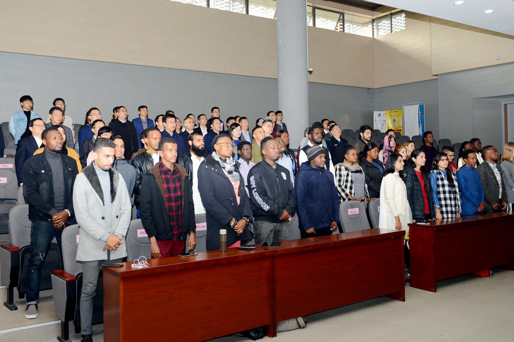 我校举行2019级留学生开学典礼