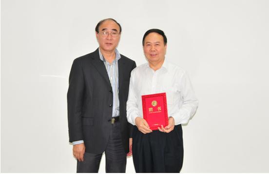《中国高新科技》杂志社社长姚昆仑受聘为我校兼职教授