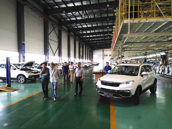 研究生院等赴安徽猎豹汽车有限公司调研研究生联合培养工作