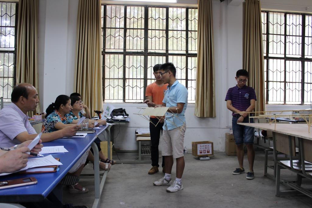 第九届全国大学生结构设计大赛校内选拔赛圆满结束