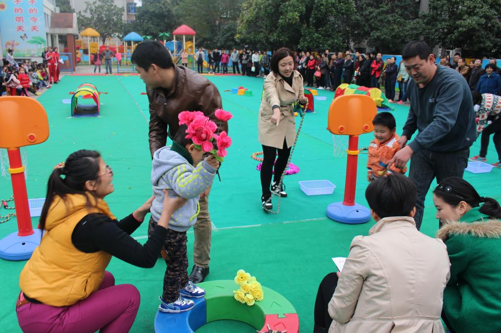 校附属幼儿园户外亲子游戏活动圆满举行
